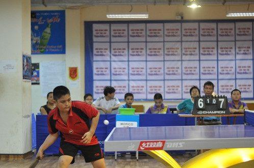 VĐV Nguyễn Văn Hưng (CLB Chiến Thắng – Long Biên) đoạt huy chương vàng đơn nam U12.