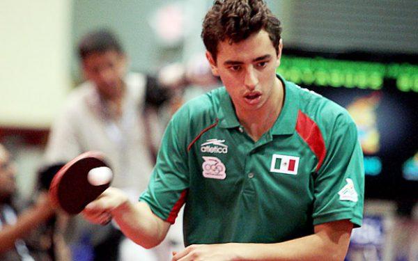 Marcos Madrid, tenis de mesa