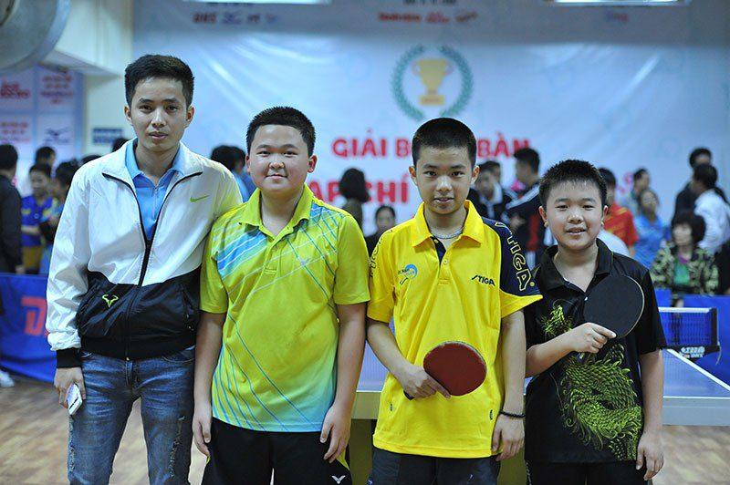 Đội Hòa Bình vô địch nội dung đồng đội U11 giải bóng bàn cúp tạp chí Thiên Thần Nhỏ lần II.