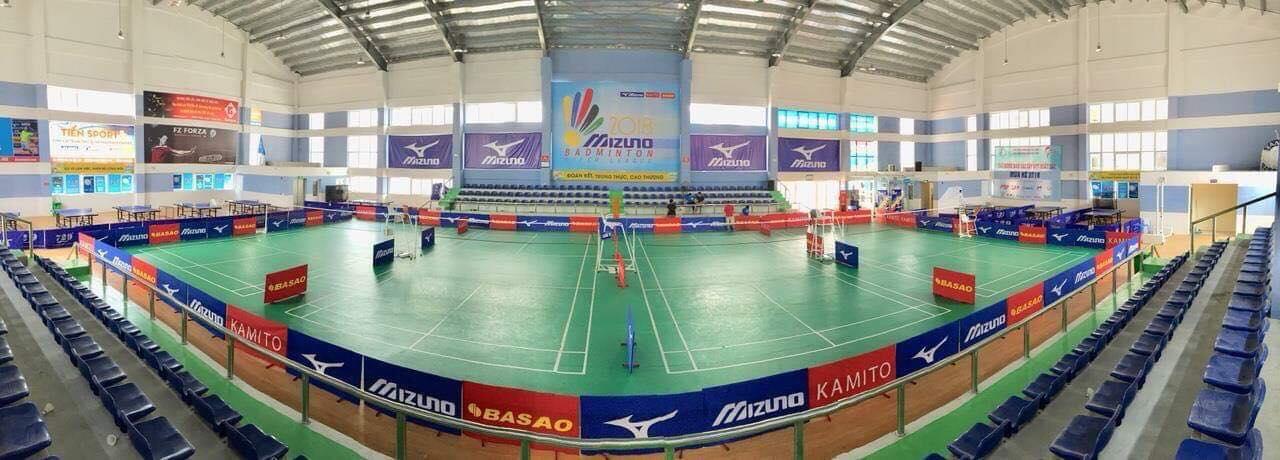 địa điểm tổ chức sự kiện thể thao