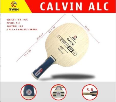Cốt Vợt Bóng Bàn SWIN Calvin ALC